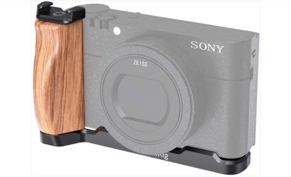 <h1>【満足度100%】RX100M7 シュー付きSmallRigの木製ハンドルで大正解【超お買い得】!!!</h1>